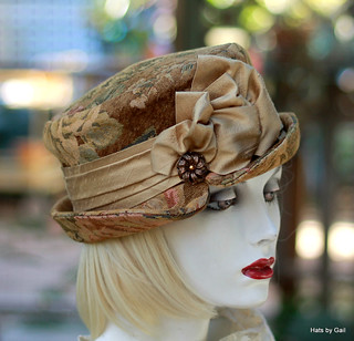 Edwardian Steampunk Boho Hat