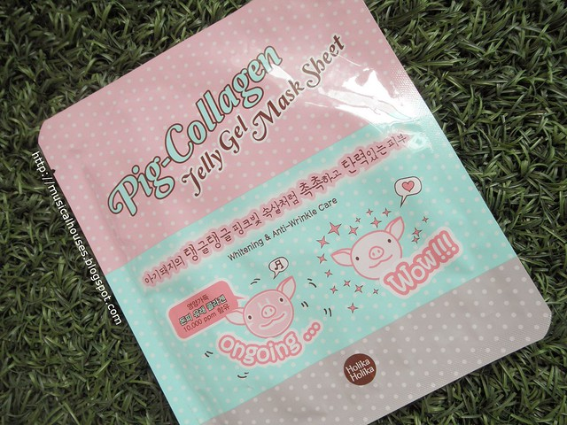 BonjourHK Haul Holika Holika Pig Collagen Jelly Gel Mask Sheet