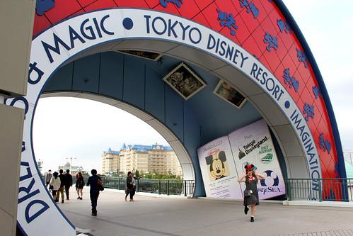 Gate to Disneyland