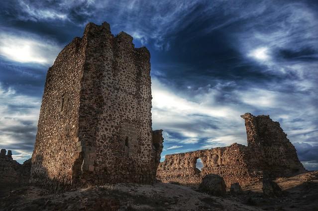 El torreón, Castillo de Almonacid.
