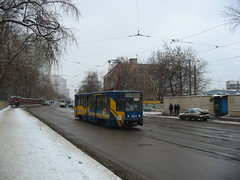Moscow tram 71-608K 4014