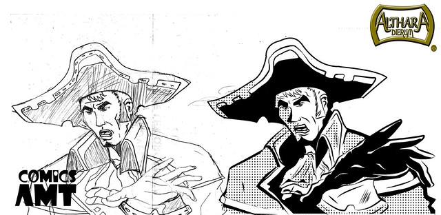 Capitán Cortez: Proceso de Creacion
