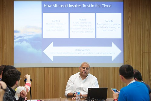 Neal Suggs, Vice President and Associate General Counsel ของ Microsoft มาแชร์เรื่อง Trusted Cloud