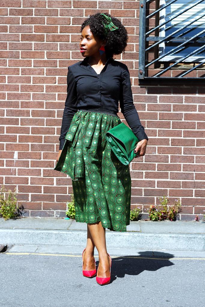 black-long-sleeved-shirt-with-a-high-waist-african-print-skirt, high waist a-line skirt, ankara high waist a-line skirt, kitenge high waist a-line skirt, chitenge high waist a-line skirt, african print high waist a-line skirt, A-line skirt, green high waist a-line skirt, ankara A-line skirt, chitenge A-line skirt, African print A-line skirt, kitenge A-line skirt, green A-line skirt,  African print style for work, kitenge style for work, chitenge style for work, ankara style for work, green high waist a line skirt, green kitenge high waist a line skirt, green ankara high waist a line skirt, green chitenge high waist a line skirt, green African print high waist a line skirt, ankara fashion, latest ankara fashion, ankara fashion 2016, kitenge fashion 2016, kitenge fashion, latest kitenge fashion, African print fashion, latest African print fashion, African print fashion 2016, kitenge midi length skirt, green midi length skirt, chitenge midi length skirt, ankara midi length skirt, African print midi length skirt, green side ruffle skirt, ankara green side ruffle skirt, kitenge green side ruffle skirt, chitenge green side ruffle skirt, African print green side ruffle skirt, chitenge green side ruffle skirt