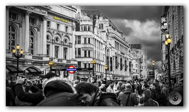 'Believe It or Not' it's crowded London!