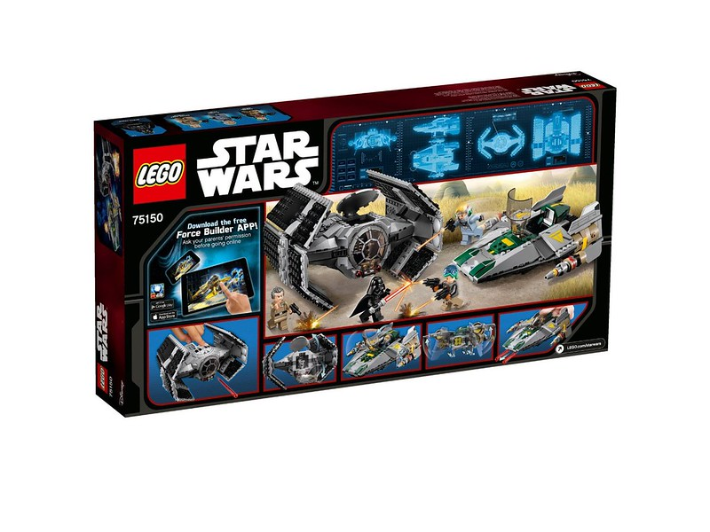 LEGO Star Wars 75150 - Vader's TIE Advanced vs. A-Wing Starfighter