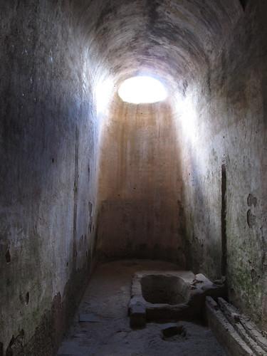 Antigua: la salle de bain du Covento de la Capuchinas