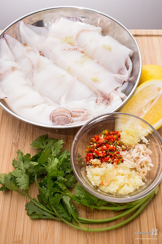 Thai-style Steam Squid-0963-