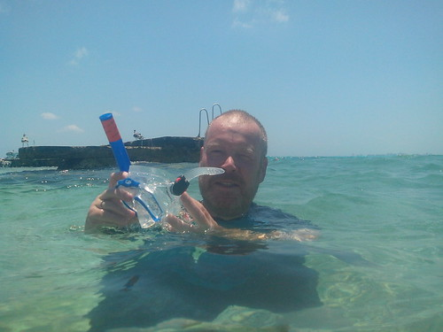 Isla Mujeres - snorkelman
