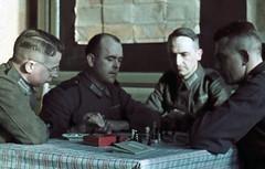 Tyske soldater spiller sjakk (1942)