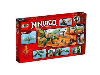 LEGO Ninjago 70593 The Green NRG Dragon back