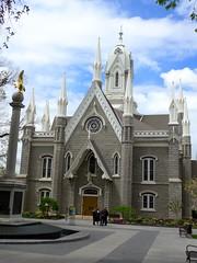 Assembly Hall, Temple Square, Salt Lake City