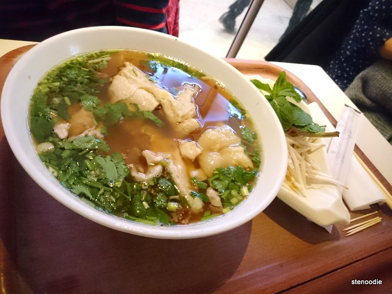 bowl of pho at Délice House