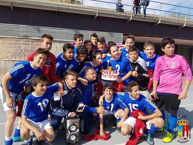 Infantil A Campeones de grupo 2015/16