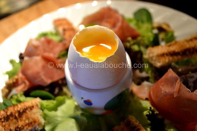 Salade au Crottin de Chavignol et au Serrano © Ana Luthi Tous droits réservés 03