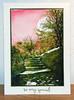 Terrace lane rose et vert 2 004