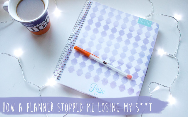 How a planner stopped me losing my s**t