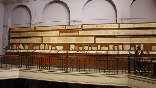 The Papyrus and Hieroglyphs section