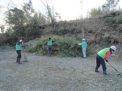 南相馬市小高区(避難指示解除準備区域)で災害ボランティア(援人 0108便)