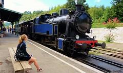 Anduze, train à vapeur des Cevennes