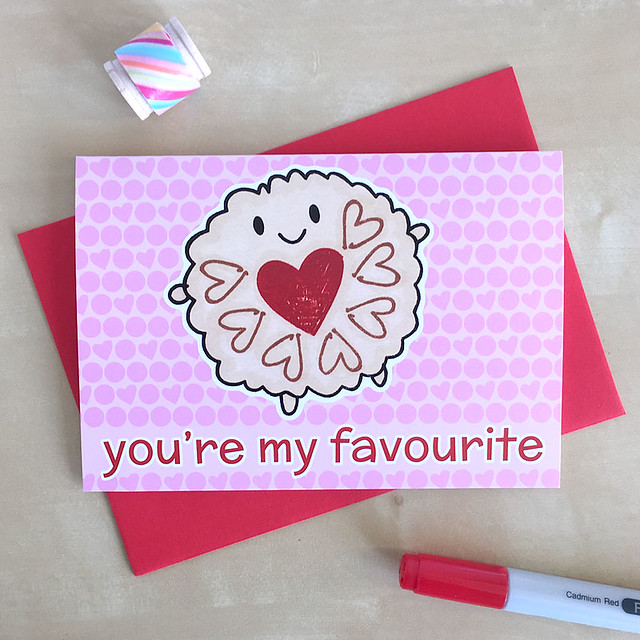 New Jammie Dodger card
