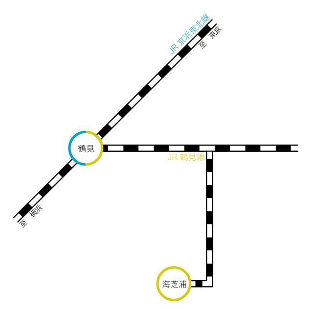 海芝浦map
