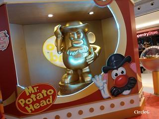 薯蛋頭 DISNEYLAND TOY STORY 新都城中心 寶琳 將軍澳 HONGKONG 2015 CIRCLEG 聖誕裝飾 (5)