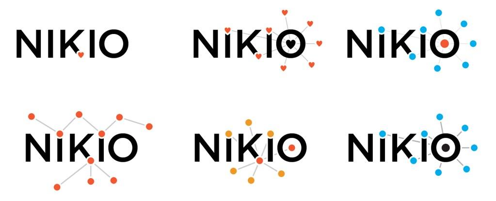 nik.io Logo Concepts