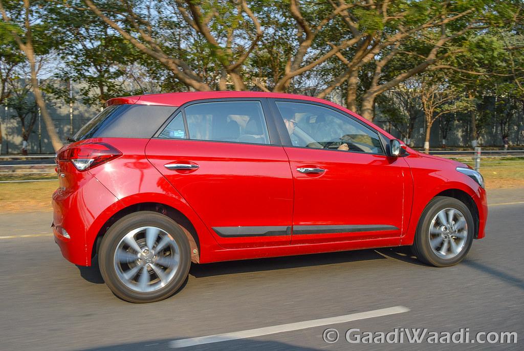 Hyundai Elite i20 AVN Test drive review-47