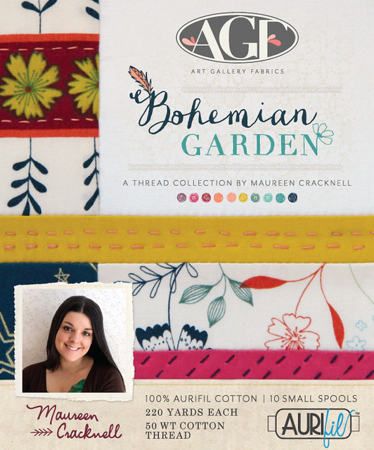 Bohemian Garden Thread Set
