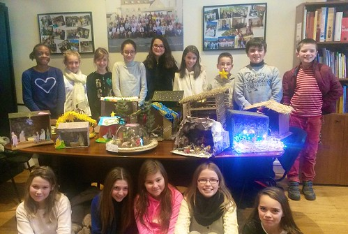 The 1st year students present their Crib creations
