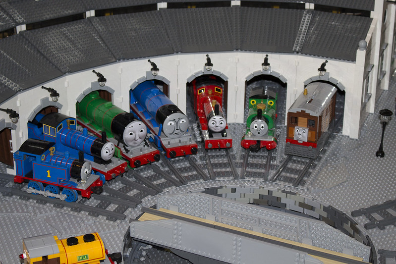 Thomas the Tank Engine Display