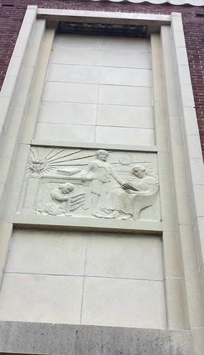 Art Deco Design Above Doorway