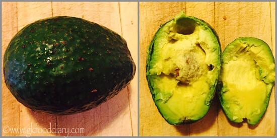 Avocado Milkshake recipe for Toddlers and Kids - step 1