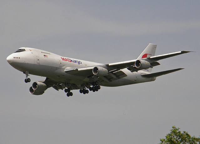 TF-ARJ Boeing 747-200 Freighter of Malaysian Cargo