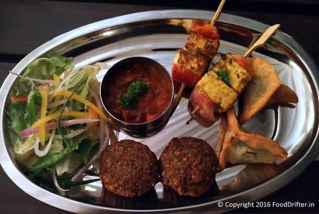 Vegetarian Appetizer Platter