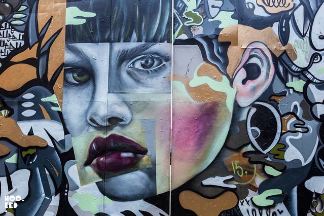 Elle Mural East London