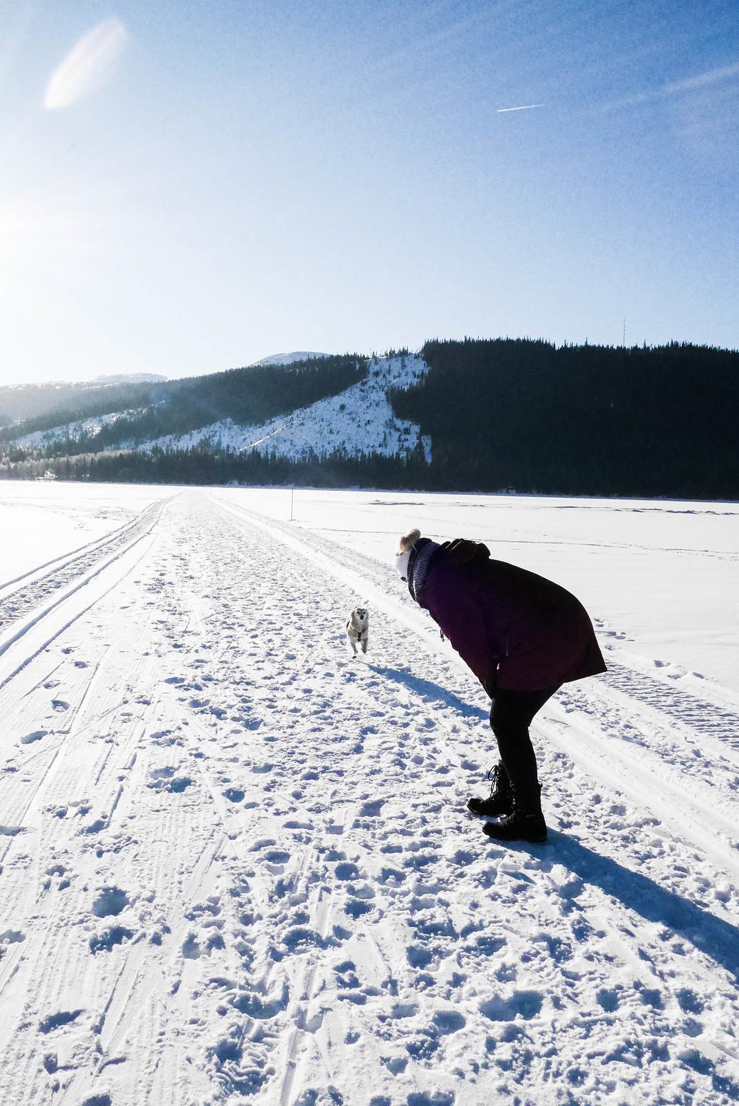 Åre - Promenad på Åresjön
