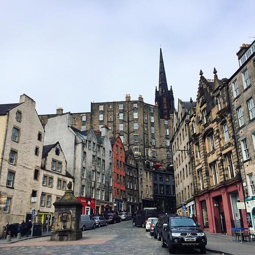 Sorting through a few last photos of my four-day girls' getaway to #Edinburgh for #edinburghyarnfestival. Love this view.
