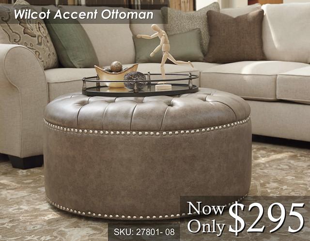 Wilcot Accent Ottoman