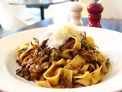 Can't get enough of Il Posto's Pappardelle All'anatra. Handmade pappardelle with twice cooked duck and porcini ragu. Al dente pasta with beautiful tender pieces of duck. We highly recommend! @ilpostopaddington