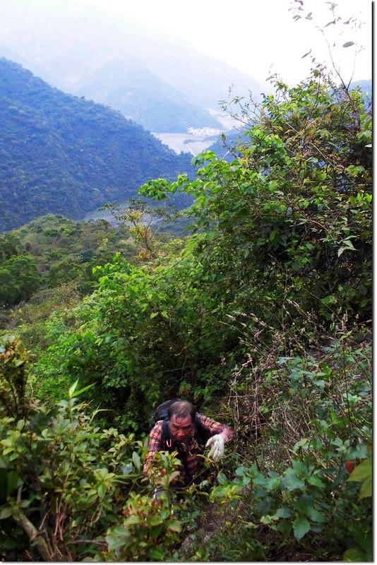 攀登垂直岩壁區 4