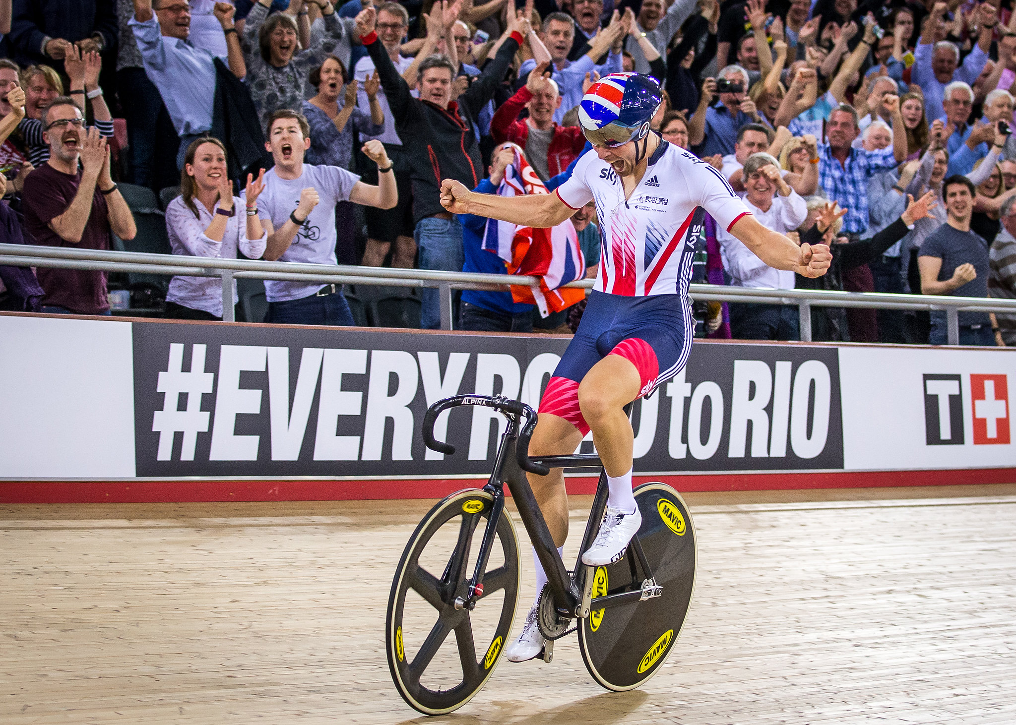 2016 UCI Track Cycling World Championships Day Three