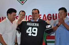 El gobernador Javier Duarte se reunió con integrantes de la agrupación de beisbolistas Big Leaguers 2