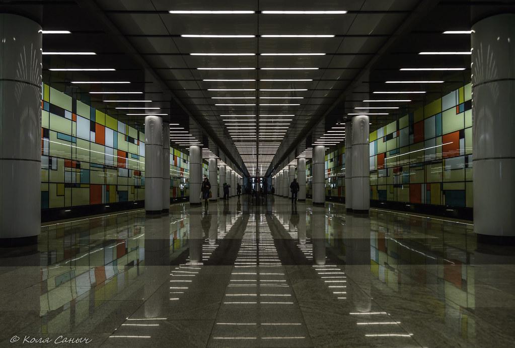 Станция метро Румянцево, Москва