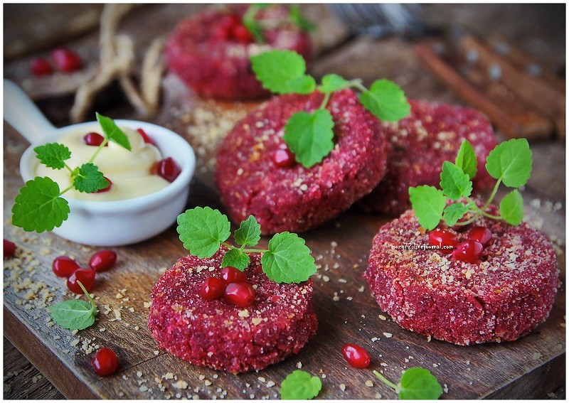...beetroot cutlets