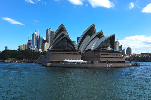 Sydney Opera House from the other side