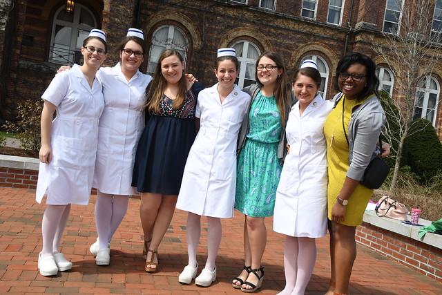 Saint Anselm Nursing Pinning 2016