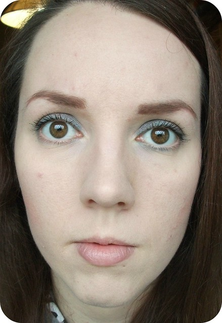 FOTD Born Pretty Teal Eyeliner