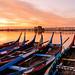 U Bein bridge sunrise by Wa Na Sa IMM